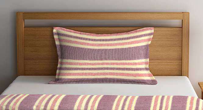 Cooper Bedcover (Purple, Single Size) by Urban Ladder - Front View Design 1 - 382175