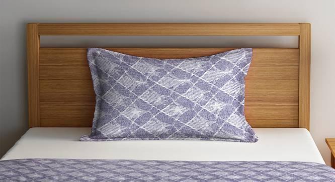 Elizabeth Bedcover (Purple, Single Size) by Urban Ladder - Front View Design 1 - 382263