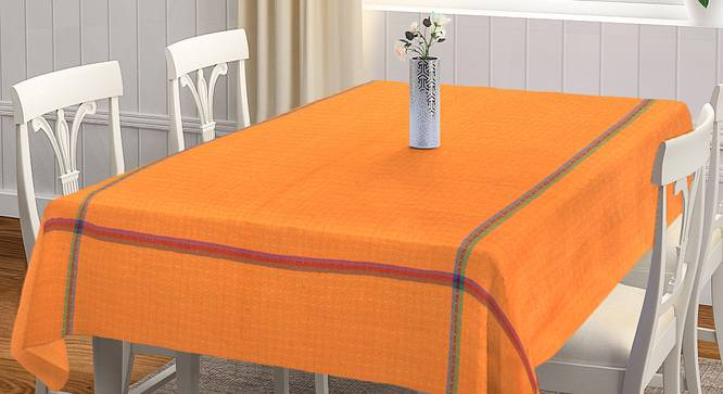 """Gerald Table Cover (Orange, 150 x 230 cm  (60"""" x 90"""") Size) by Urban Ladder - Front View Design 1 - 382380"""