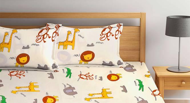 Gabriela Bedsheet Set (King Size) by Urban Ladder - Front View Design 1 - 382384