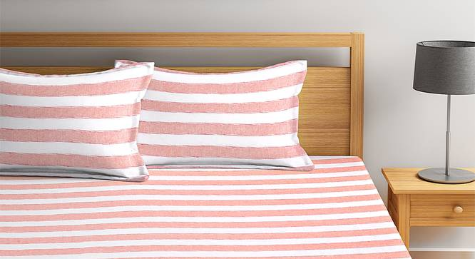 Hayley Bedcover (Orange, King Size) by Urban Ladder - Front View Design 1 - 382471