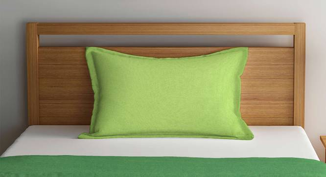 Ivy Bedcover (Green, Single Size) by Urban Ladder - Front View Design 1 - 382514