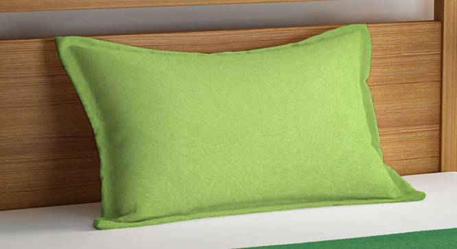 Ivy Bedcover (Green, Single Size) by Urban Ladder - Cross View Design 1 - 382523