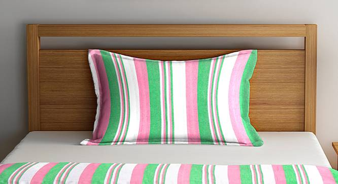 Jordan Bedcover (Green, Single Size) by Urban Ladder - Front View Design 1 - 382595