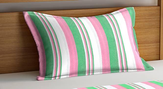 Jordan Bedcover (Green, Single Size) by Urban Ladder - Cross View Design 1 - 382603