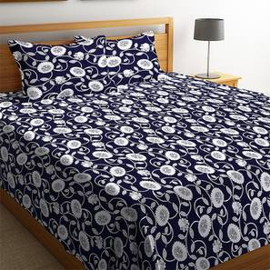 Lacey bedcover navyblue lp