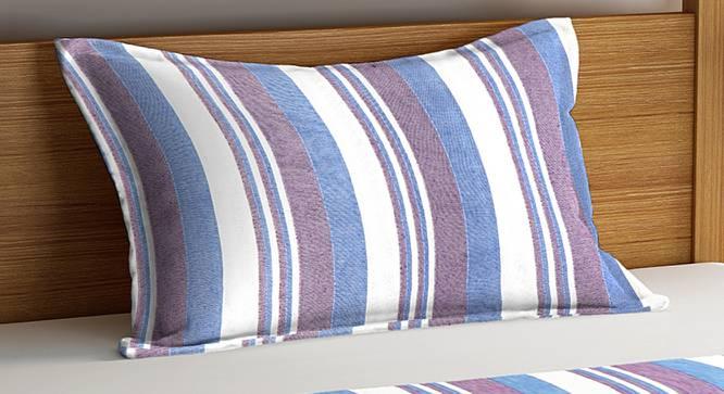 Landon Bedcover (Purple, Single Size) by Urban Ladder - Cross View Design 1 - 382681