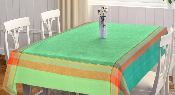 """Olette Table Cover (Green, 150 x 230 cm  (60"""" x 90"""") Size) by Urban Ladder - Front View Design 1 - 382887"""