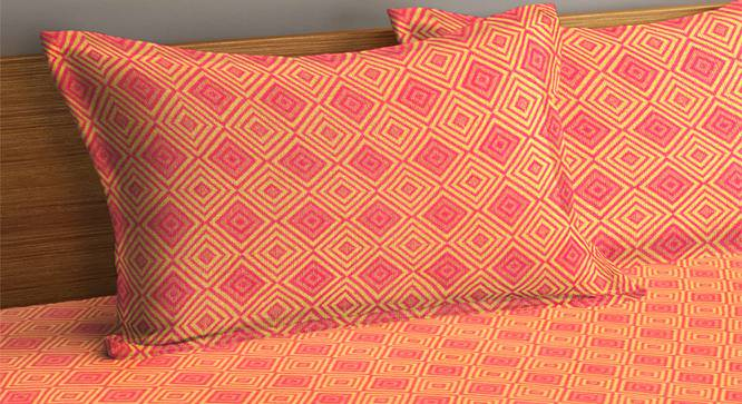 Pierson Bedcover (Orange, King Size) by Urban Ladder - Cross View Design 1 - 382947