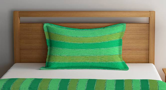 Scarlett Bedcover (Green, Single Size) by Urban Ladder - Front View Design 1 - 383074