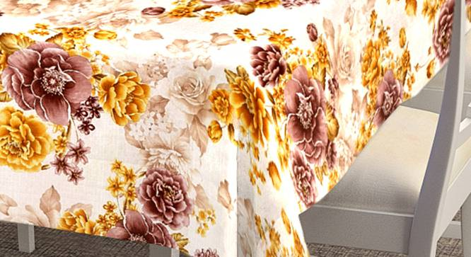 """Shailagh Table Cover (182 x 132 cm  (72"""" x 52"""") Size) by Urban Ladder - Cross View Design 1 - 383077"""
