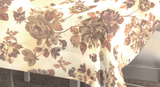 """Shayleen Table Cover (150 x 150 cm  (60"""" x 60"""") Size) by Urban Ladder - Cross View Design 1 - 383081"""