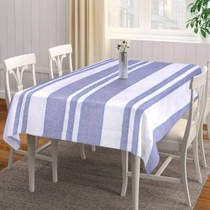 """Sol Table Cover (Blue, 182 x 132 cm  (72"""" x 52"""") Size) by Urban Ladder - Front View Design 1 - 383114"""