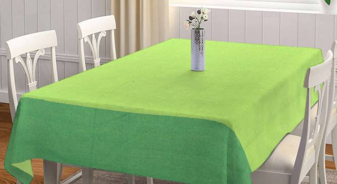 """Tinka Table Cover (Green, 182 x 132 cm  (72"""" x 52"""") Size) by Urban Ladder - Front View Design 1 - 383202"""