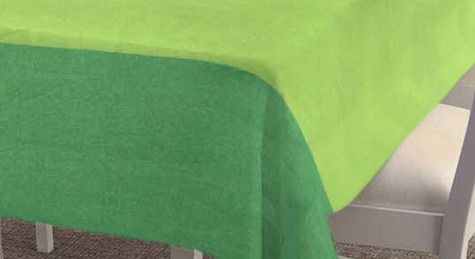 """Tinka Table Cover (Green, 182 x 132 cm  (72"""" x 52"""") Size) by Urban Ladder - Cross View Design 1 - 383211"""