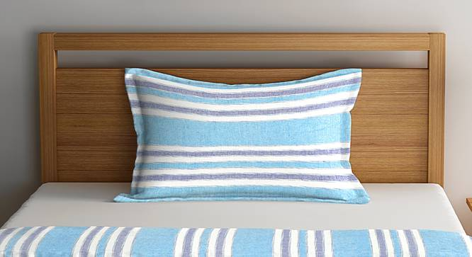 Zoe Bedcover (Turquoise, Single Size) by Urban Ladder - Front View Design 1 - 383293