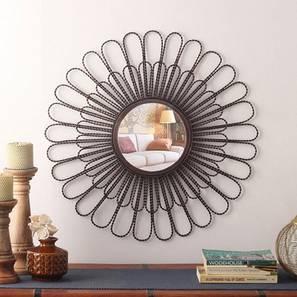 Edwin wall mirror  copper antique lp