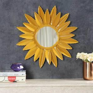 Mabel wall mirror  mustard yellow lp