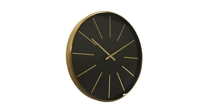 Lee Wall Clock (Blue & Gold) by Urban Ladder - Cross View Design 1 - 383459