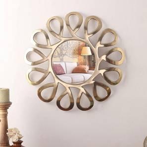 Russell wall mirror  golden lp