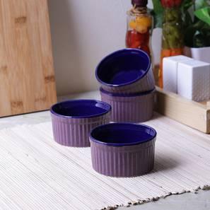 Birch dessert bowls set of 4 purple lp
