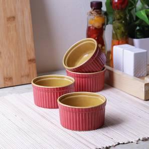 Birch dessert bowls set of 4 pink lp