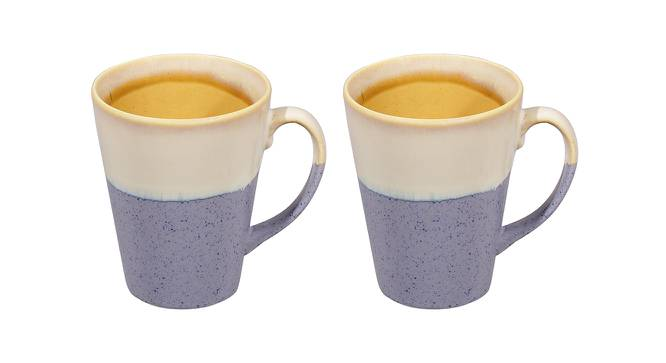Apple Mugs (Blue) by Urban Ladder - Front View Design 1 - 383641