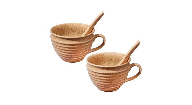 Barbossa Soup Bowls (Brown) by Urban Ladder - Front View Design 1 - 383647