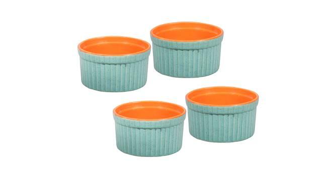 Birch Dessert Bowls (Green) by Urban Ladder - Front View Design 1 - 383649