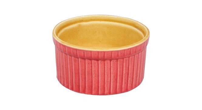 Birch Dessert Bowls (Pink) by Urban Ladder - Design 1 Side View - 383664
