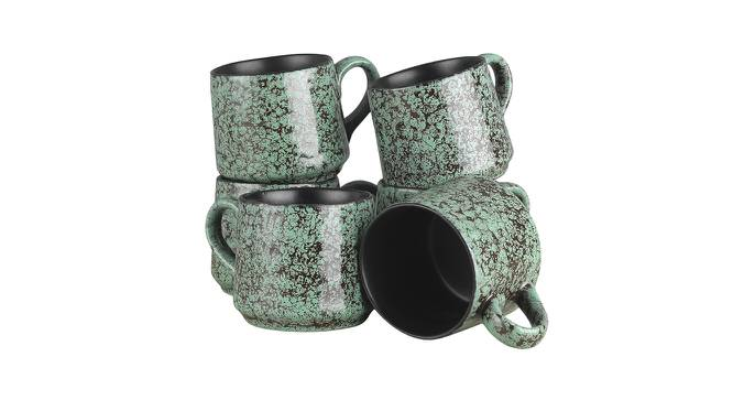 Karri Cups (Green) by Urban Ladder - Front View Design 1 - 383756