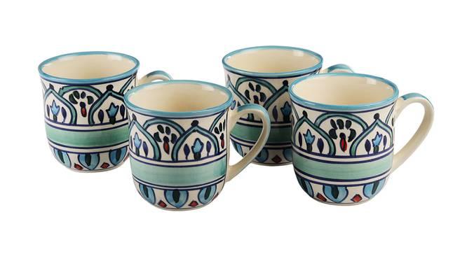 Hamilton Mugs Set of 4 by Urban Ladder - Design 1 Side View - 383765