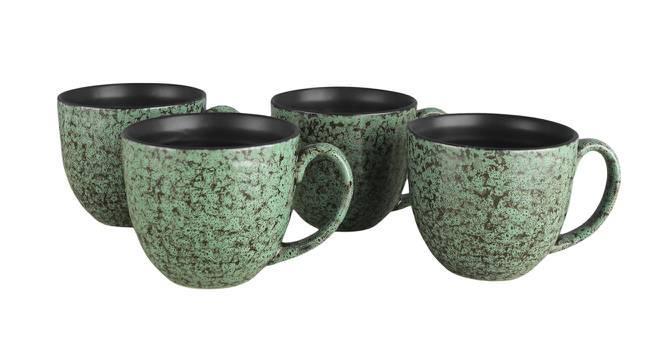 Kiri Cups Set of 6 (Green) by Urban Ladder - Design 1 Side View - 383776