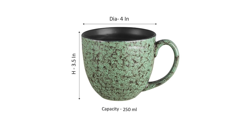 Kiri cups set of 6 green 6