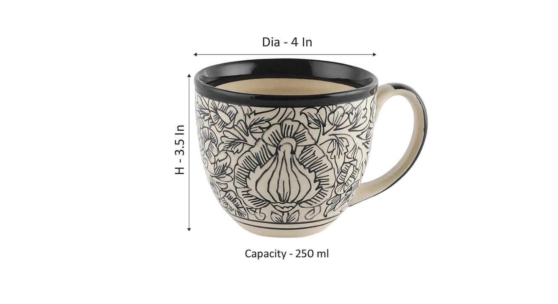 Lapu cups set of 4 off white 6