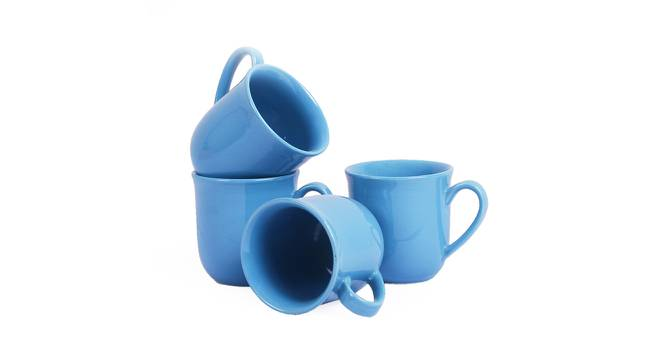 Naim Cups Set of 4 (Blue) by Urban Ladder - Front View Design 1 - 383843