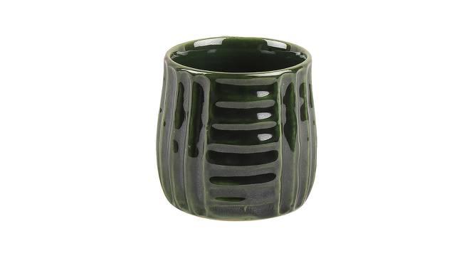 Nima Mugs Set of 4 (Green) by Urban Ladder - Design 1 Side View - 383864