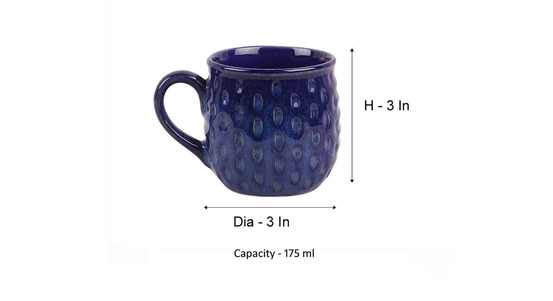 Noyce mugs set of 4 blue 6