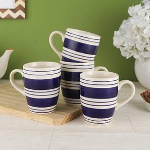 Perry mugs set of 6 blue lp