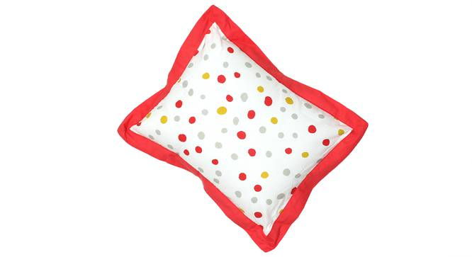 The Babys Dayout Pillow & Cushion (White & Yellow) by Urban Ladder - Front View Design 1 - 384035