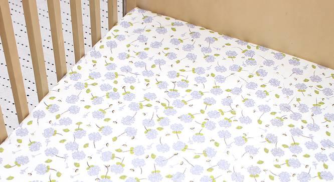 Pretty Puffballs Bedsheet - Set of 2 (Kids Size) by Urban Ladder - Design 1 Half View - 384085