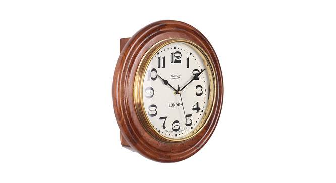 Aria Wall Clock (Brown) by Urban Ladder - Front View Design 1 - 384335