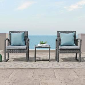 Iris patio set ash grey lp