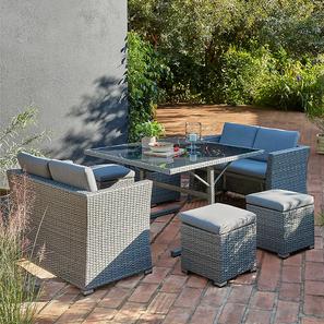 Dahlia patio set grey lp