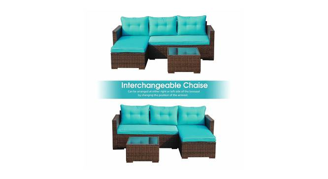 Jasmine Patio Set (smooth Finish, Leather Brown) by Urban Ladder - Cross View Design 1 - 384890