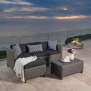 June patio set black lp
