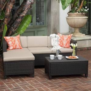 Magnolia patio set black lp