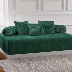 Adison Diwan Set (Green) by Urban Ladder - Front View Design 1 - 384997