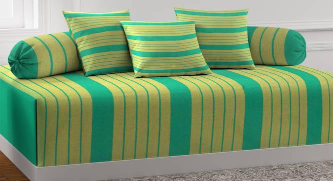Zach Diwan Set (Green) by Urban Ladder - Front View Design 1 - 385059