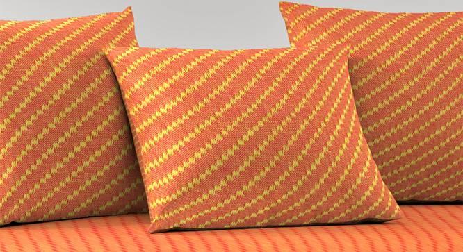 Zophia Diwan Set (Orange) by Urban Ladder - Cross View Design 1 - 385070